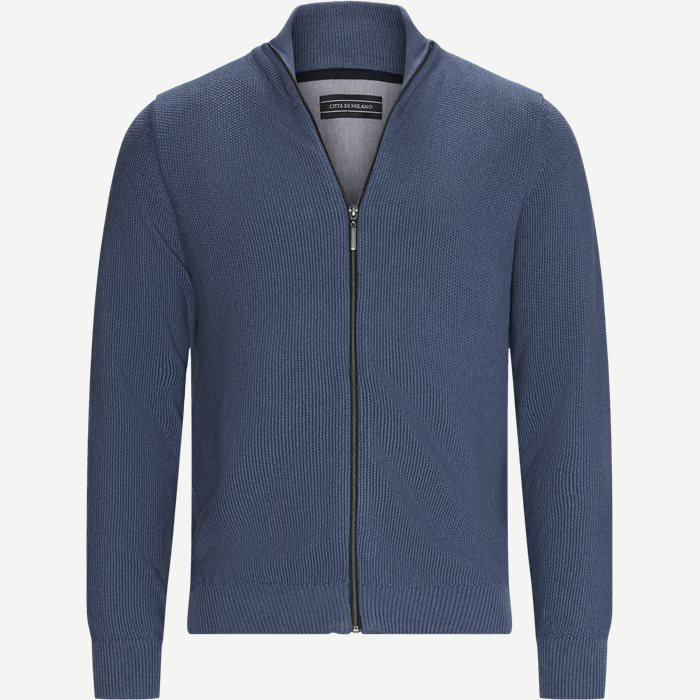 Munich Cardigan - Strik - Regular - Denim